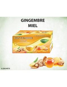 Tisane MIEL gingembre
