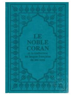 Coran Arabe/Français bleu