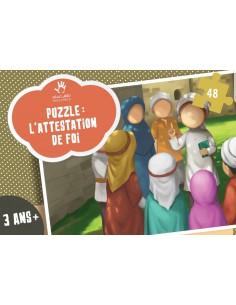 Puzzle Attestation de foi 48 pieces
