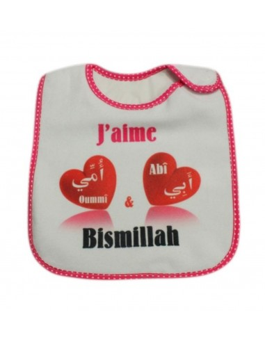 Bavoir bismillah fille