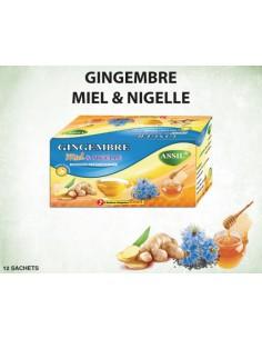 Tisane MIEL gingembre et nigelle