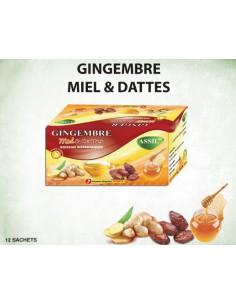 Tisane MIEL gingembre et dattes