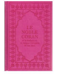 Coran Arabe/Français rose