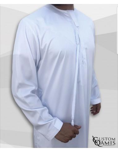 Qamis Emiratis Blanc