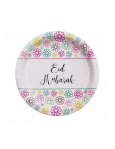 Lot 5 assiettes Eid Moubarek