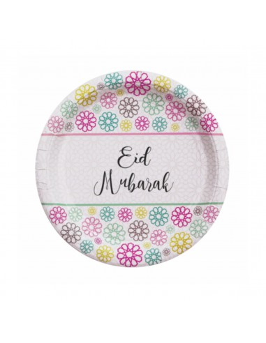 Lot 5 assiettes Eid Moubarek