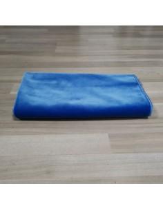 tapis de prière couleur unis bleu
