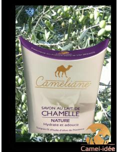 Savon végétal au lait de chamelle NATURE – 100g