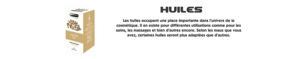 Soins islamiques : Huiles